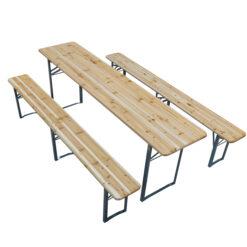 ümmargune laud, välimööbel, kokkupandav mööbel, õuemööbel, zown mööbel, õllemööbel, õllemööbli komplekt