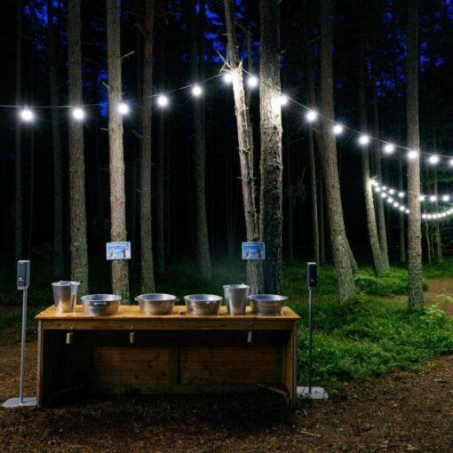 valguslahendused, valguskettide müük, lambiketid, valguskett aeda