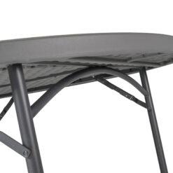 ümmargune laud, välimööbel, kokkupandav mööbel, õuemööbel, zown mööbel
