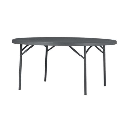 Ümmargune laud, zown mööbel, välimööbel, kokkupandav laud, ümmargused lauad